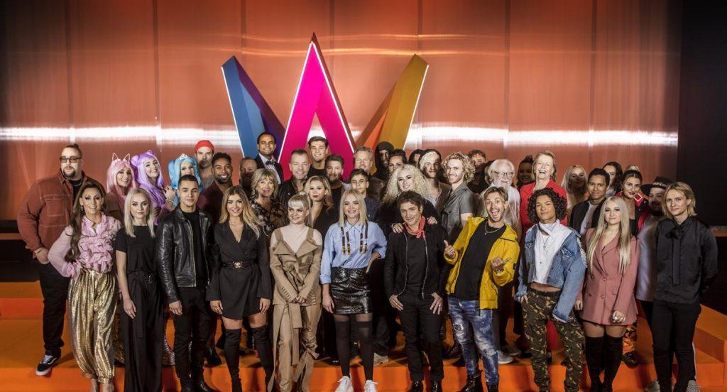 2018 Melodifestivalen Katılımcıları