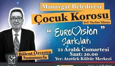 Manavgat Belediyesi Eurovision Şarkıları Konseri